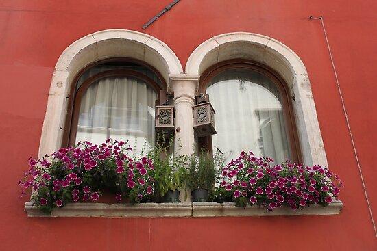Venetian Windows by Elena Skvortsova
