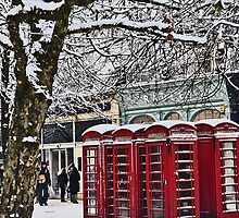 Telephone box by Lily Evans