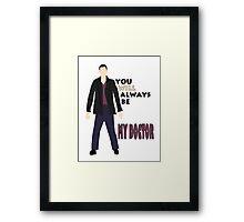 The Ninth Doctor  Framed Print