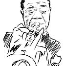 Louis Armstrong by Rich Anderson