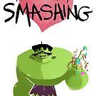 Hulk Think You Smashing by tinymallet