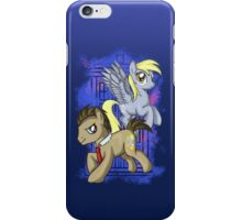 Dr Whooves and Derpy iPhone Case/Skin