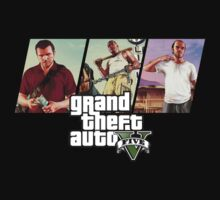 Grand Theft Auto V Shirt by iibbo1