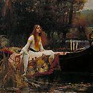 John William Waterhouse - The Lady of Shalott by TilenHrovatic