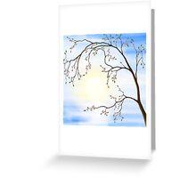 Cherry Blossom art photo print Greeting Card