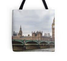 London Big Ben and Parliament River Thames Tote Bag