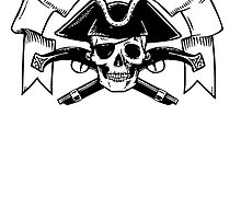 Pirate Skull by kwg2200
