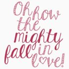 The Mighty Fall (Pink) by Qistina Iskandar