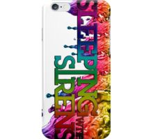 Sleeping with sirens Rainbow phone case iPhone Case/Skin