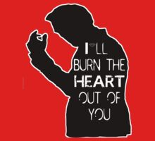 I'll burn the heart out of you- Black by ThwartedBear