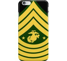 Military seargent major grade iPhone Case/Skin