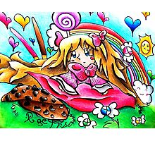 Candy Girly Photographic Print