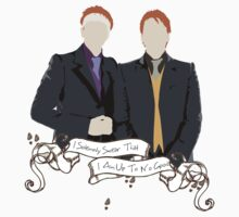 Fred and George Weasley Kids Clothes