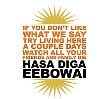 hasa diga by acciojoy