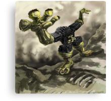 Robotic Monster Canvas Print