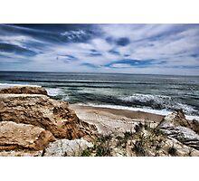 Montauk Beach Overlook Photographic Print