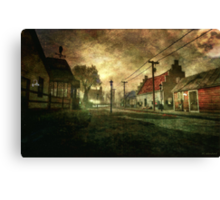 The Silence That Follows Canvas Print