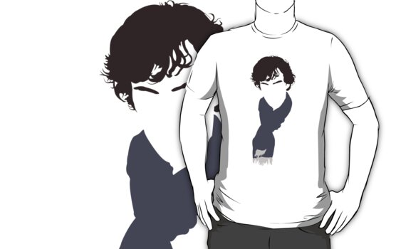 Sherlock Minimal Head by Posteritty
