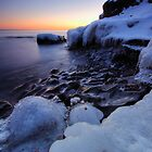 The Frozen Shore, Lake Superior by Michael Treloar
