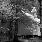 church in smokies by dc witmer