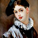 A Coquettish Smile after Gustave Jean Jacquet by Hidemi Tada