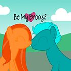 Be My Brony Valentines by Crystal Potter