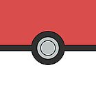Pokemon Pokeball Minimal Design Poster by Jorden Tually