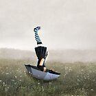 Umbrella melancholy by Richard Davis