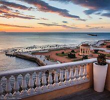 Sunset in Livorno - Terrazza Mascagni by Andrea Dani