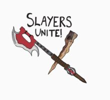 Slayer's Unite Crest (Buffy) V1 by Vixetches