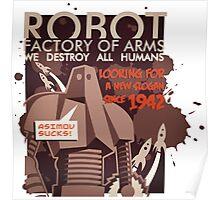 Asimov sucks Poster