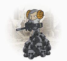 sheep with a machine gun Kids Clothes