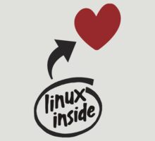 Linux inside my hearth by Weping