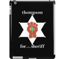 Hunter S Thompson, Gonzo Fist  iPad Case/Skin
