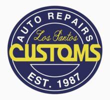 Los Santos Customs by RocketmanTees