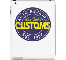 Los Santos Customs iPad Case/Skin