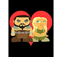 Dothraki Valentines  Photographic Print