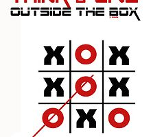 OUTSIDE THE BOX by COLIN TRESADERN