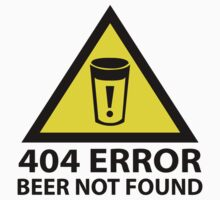 404 Error Beer Not Found by BrightDesign