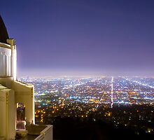 Griffith Observatory Los Angeles View by Jerome Obille