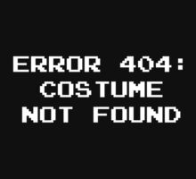 404 Error : Costume Not Found by BrightDesign