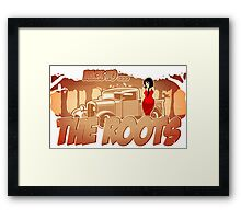 Pinup-Girls: Back to the roots Framed Print