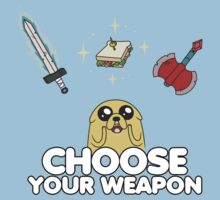 Choose your weapon by menteymenta