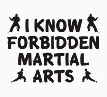 I Know Forbidden Martial Arts by BrightDesign