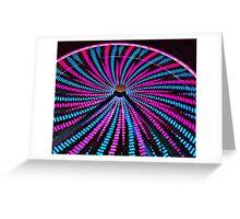 Ferris Wheel Close Up Greeting Card