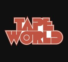 Retro Tape World by RocketmanTees