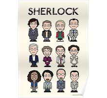 Sherlock and Friends (poster or print) Poster