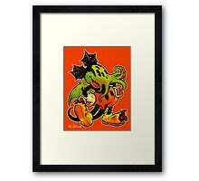 MICKHULHU MOUSE (color) Framed Print