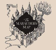 Marauder's Map by kdm1298