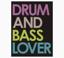 Drum & Bass Lover Kids Clothes